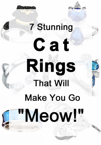 "7 Stunning Cat Rings That Will Make You Go ""meow!"""
