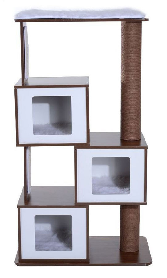 Retro cat tree