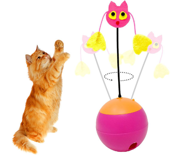 Tumbler Laser Interactive Cat Toy