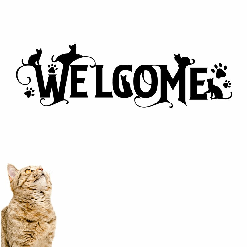 Welcome+with+Cats+Vinyl+Wall+Decal.jpg
