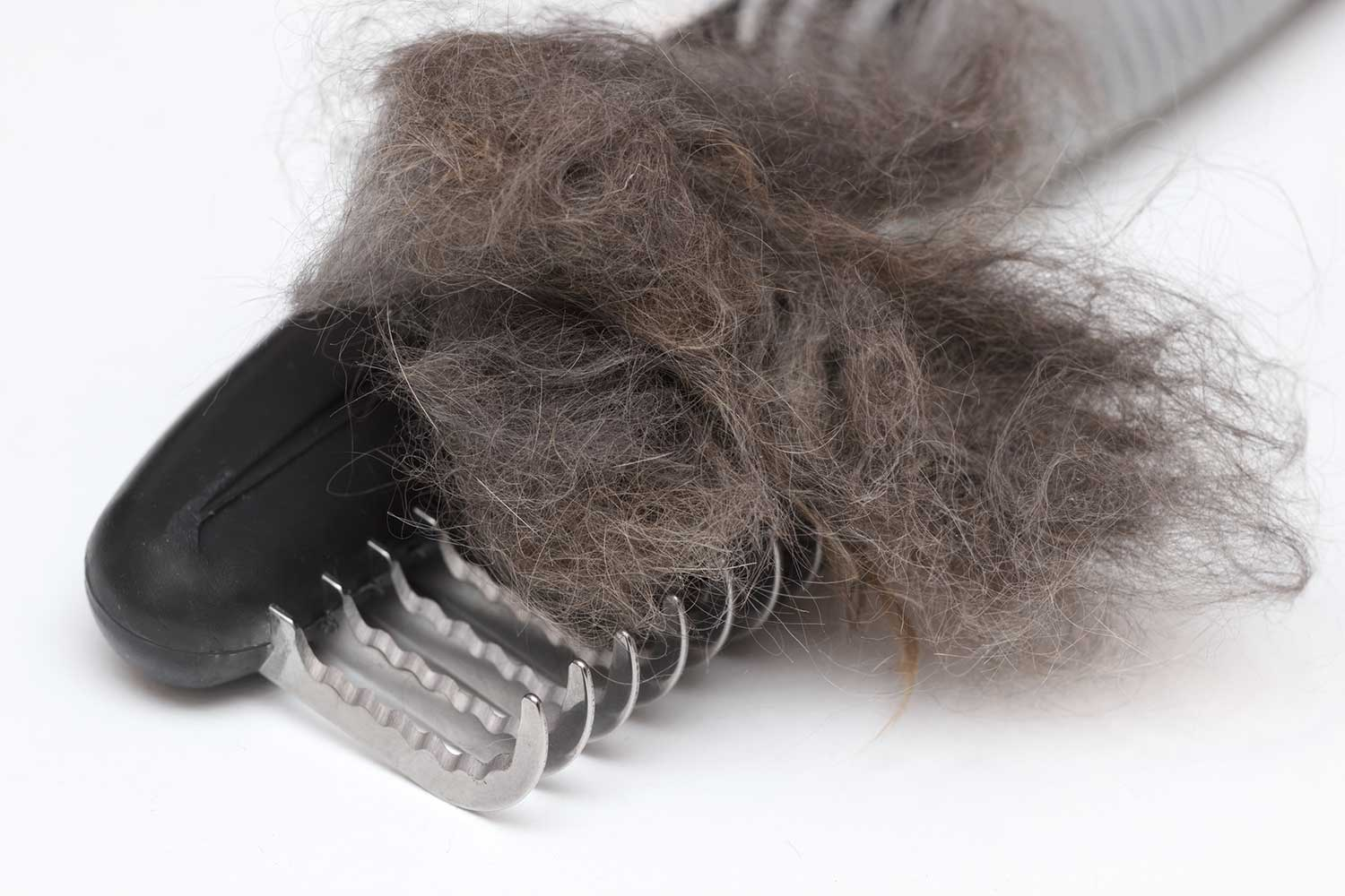 Matted wool trimmer tool for cat grooming