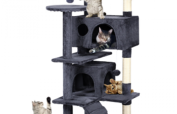 Yaheetech Cat Tree Tower Pet Kitten Condo Bed Furniture 51""