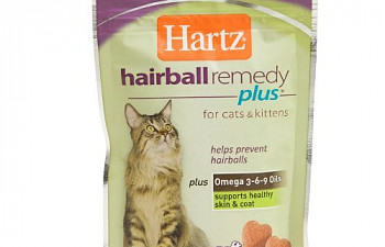 Pet Naturals Hairball Relief Cat Soft Chews