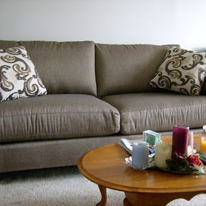 New Couch and Chair