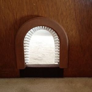 Cat hole - for interior door
