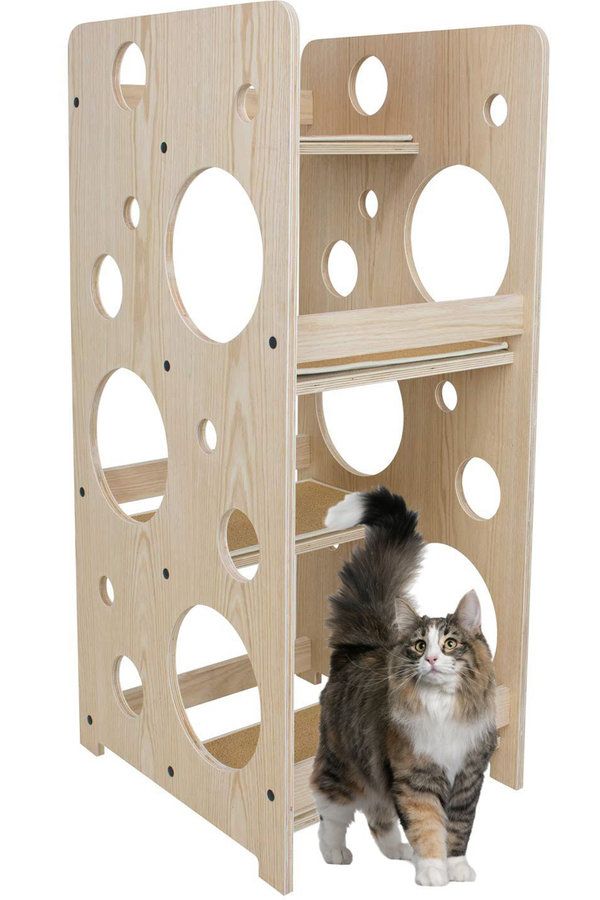 "Bubble cat tree. Cat Trees: 12 Designs That Will Make You Go ""wow!"""